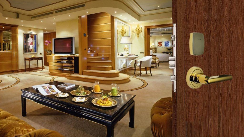 قفل کارتی هتلی - قفل هوشمند