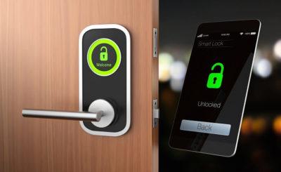دسترسی به قفل هوشمند