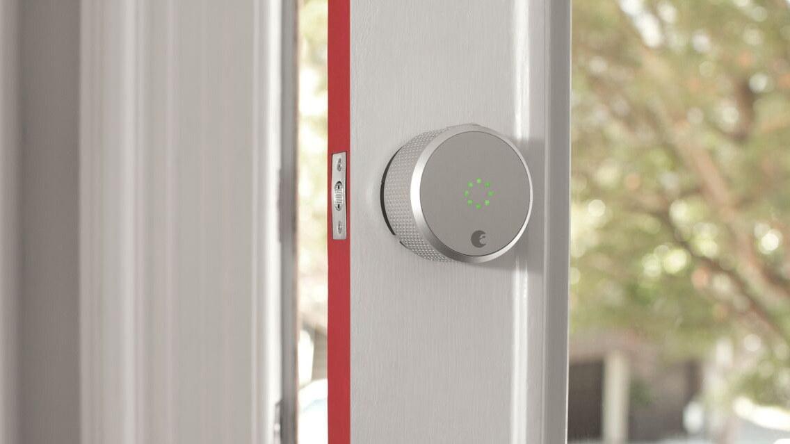 قفل هوشمند در خانه