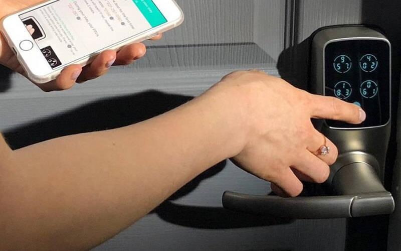 دسترسی موقت با قفل دیجیتالی
